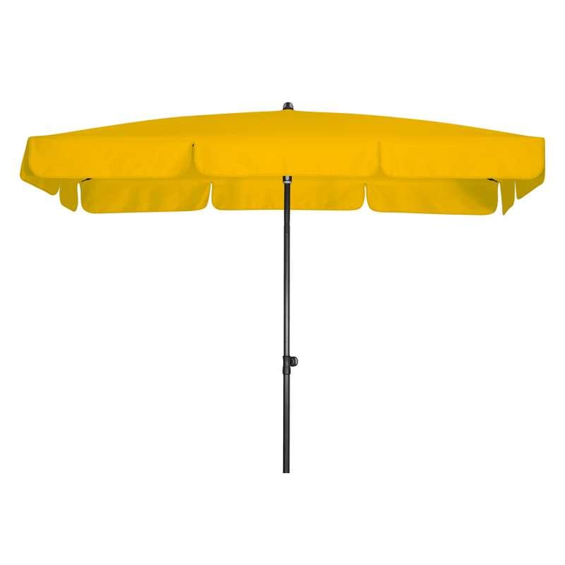 Doppler Sunline Waterproof 225 x 120 cm Sonnenschirm Gelb Gartenschirm Sonnenschutz