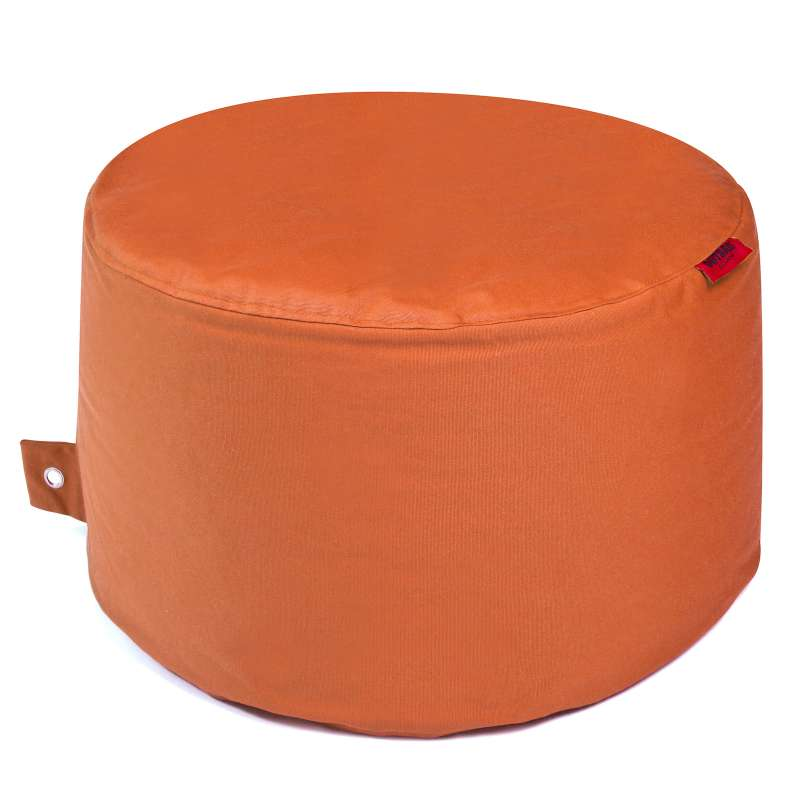 Outbag Rock Plus Sitzhocker orange ø 60 x 35 cm Gartenhocker Outdoorsessel