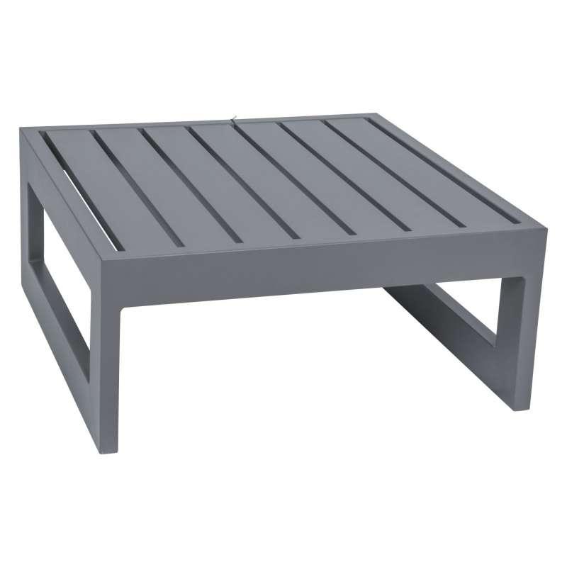Stern Beistelltisch/Hocker New Holly Aluminium graphit 72x72x33 cm Loungetisch Tisch
