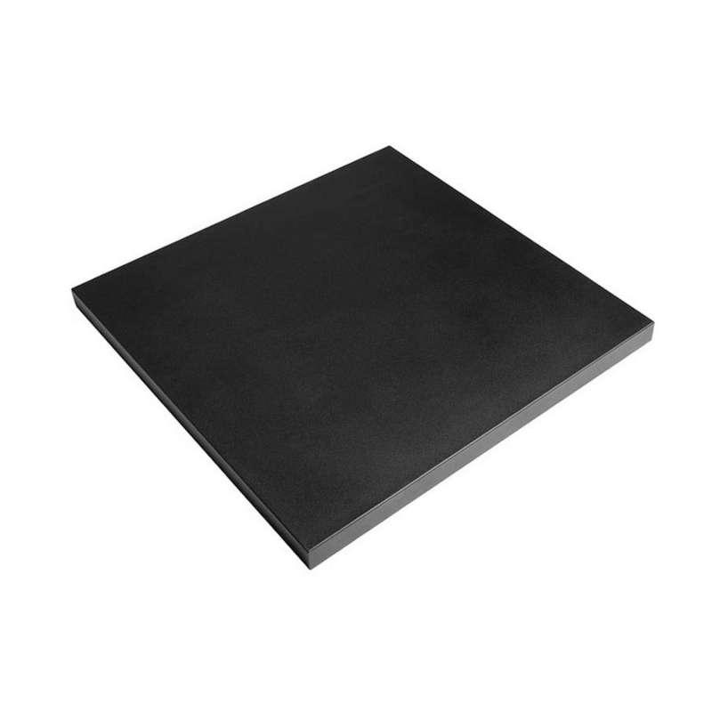 Happy Cocooning Mania Deckel schwarz für quadratische Feuertische klein Schutzabdeckung 65x65x5 cm