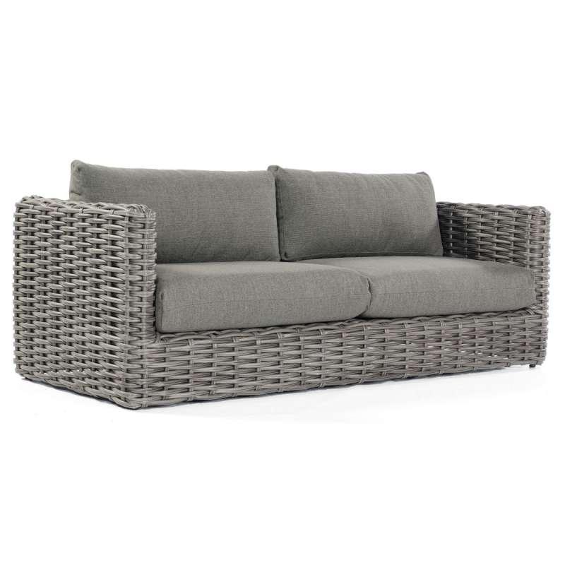 Sonnenpartner Loungesofa Sands Aluminium mit Polyrattan charcoal Lounge-Sofa