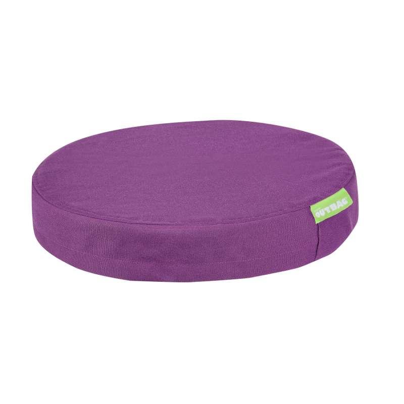 Outbag disk Plus Stuhlauflage Sitzkissen Gartenauflage rund wetterfest ⌀ 45x8 cm