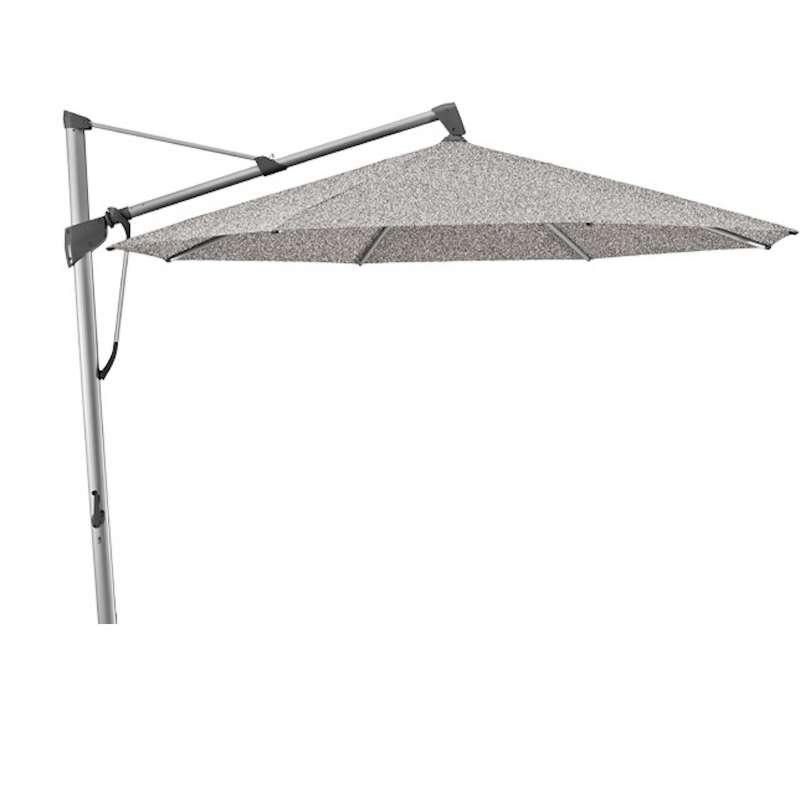 GLATZ Sonnenschirm SOMBRANO® S+ rund ø 350 cm Stoffklasse 4 Smoke 420