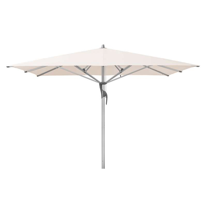 GLATZ Sonnenschirm FORTELLO® LED 350 x 350 cm Stoffklasse 4 Vanilla 453