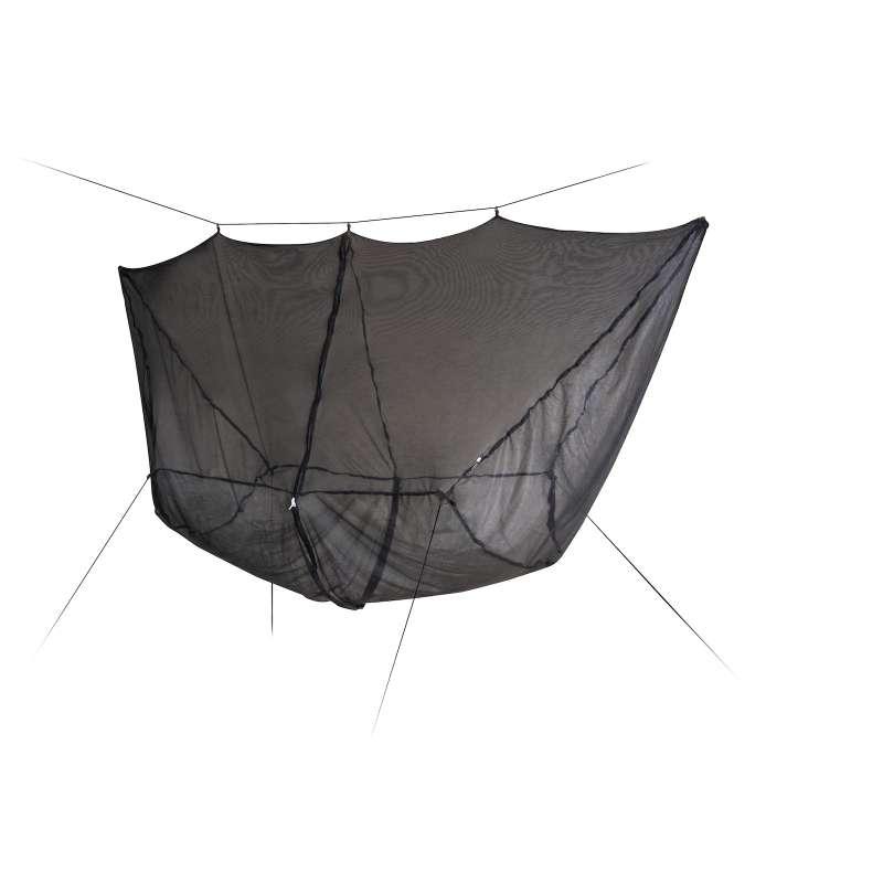 La Siesta BugNet 360° Moskitonetz für Hängematten schwarz 300x100 cm mit Reißverschluss