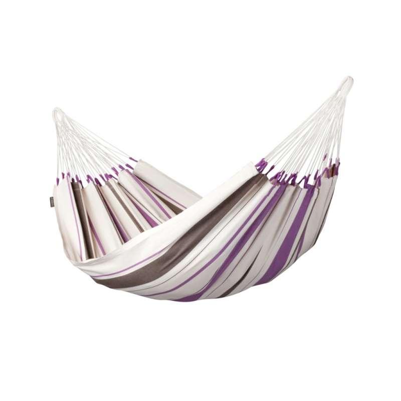 La Siesta Hängematte CARIBENA Purple gestreift Singlehängematte CIH14-7 optional mit Gestell