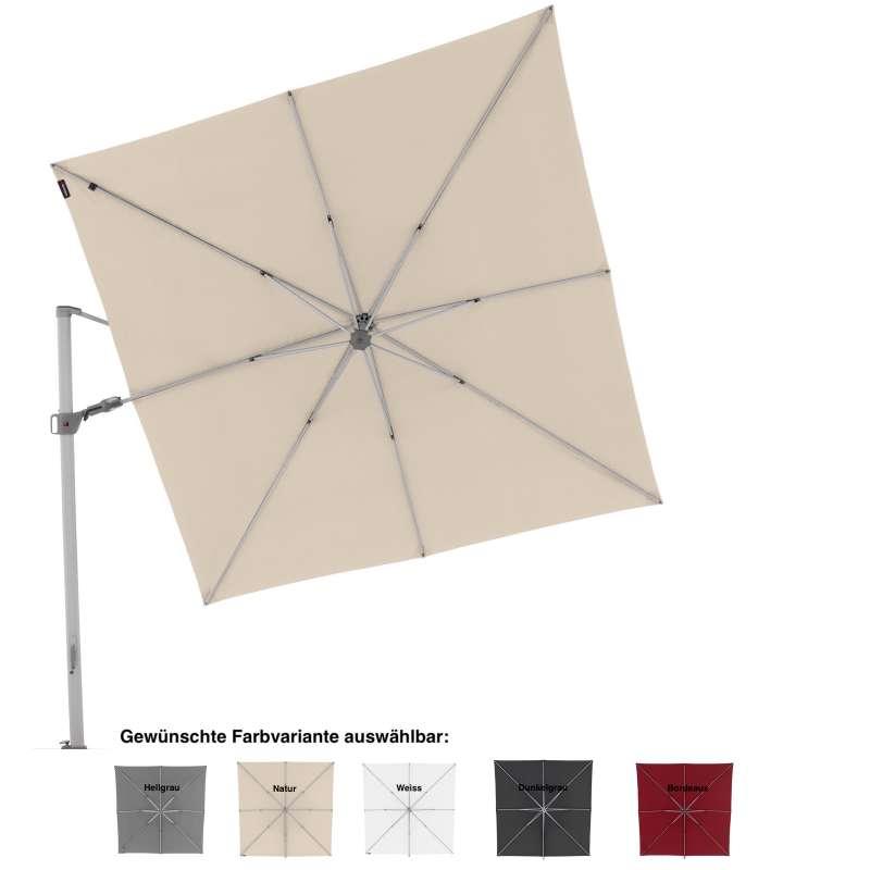Knirps Pendular 275 x 275 cm Sonnenschirm Pendelschirm 5 Farbvarianten Ampelschirm