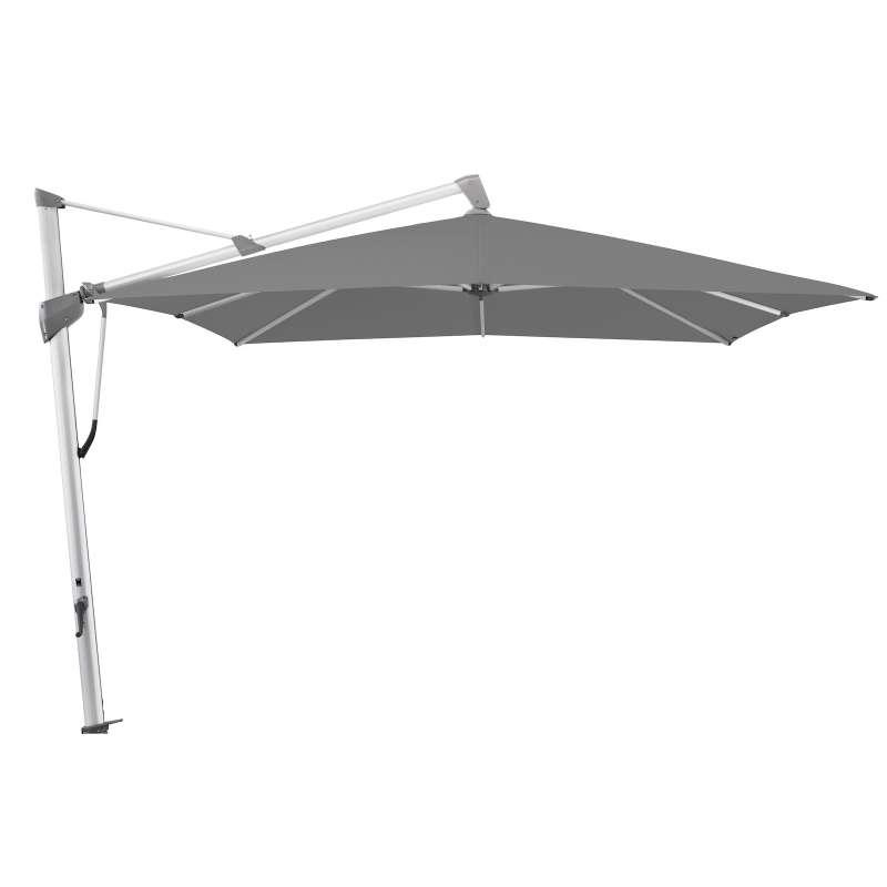 GLATZ Sonnenschirm SOMBRANO® S+ 350 x 350 cm Stoffklasse 4 Smoke 420