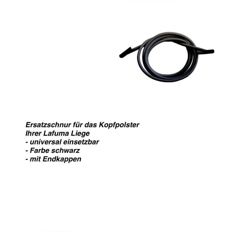 Lafuma Gummischnur Ersatzschnur für Kopfpolster schwarz LFM2112.0247
