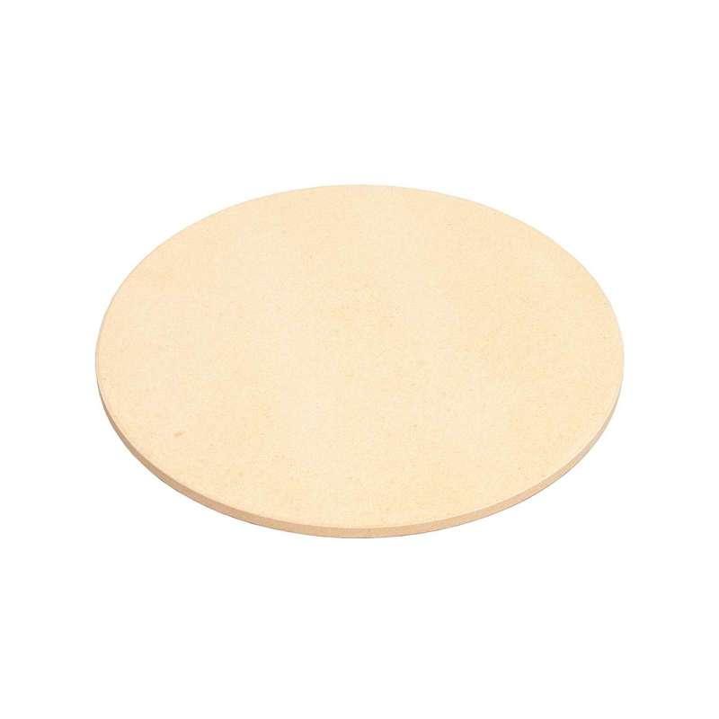 Happy Cocooning Mania Pizzastein für Grillplatte auf runden Feuertischen 40x40x4,5 cm