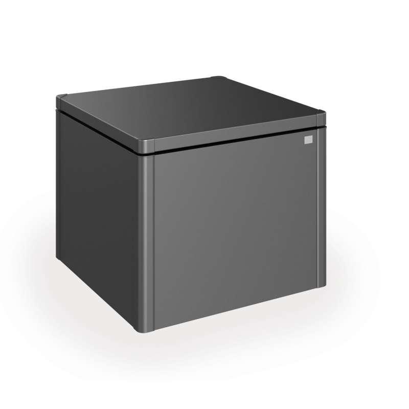 Biohort Premium-Komposter MonAmi® S 102x102x84 cm dunkelgrau-metallic Kompost mit Belüftung