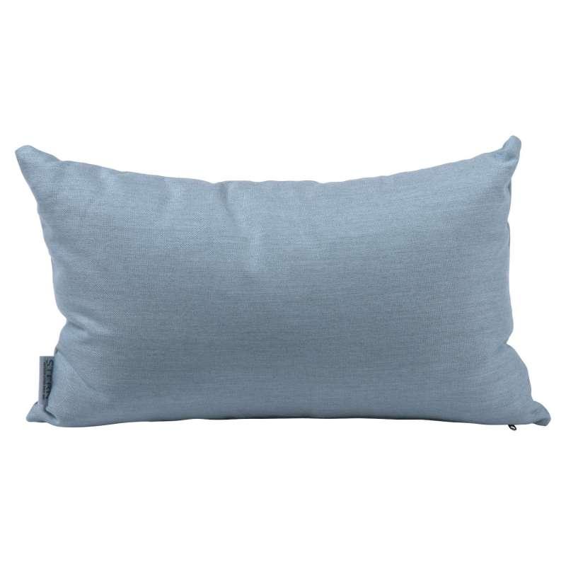 Stern Dekokissen Outdoorstoff hellblau uni 35x55 cm Gartenkissen Kuschelkissen