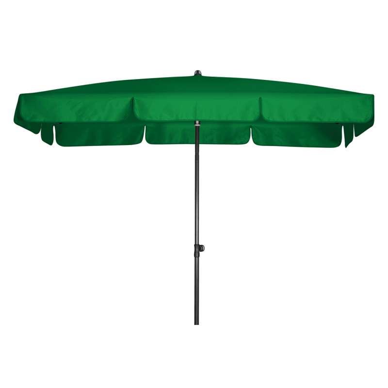 Doppler Sunline Waterproof 260 x 150 cm Sonnenschirm Grün Gartenschirm Sonnenschutz