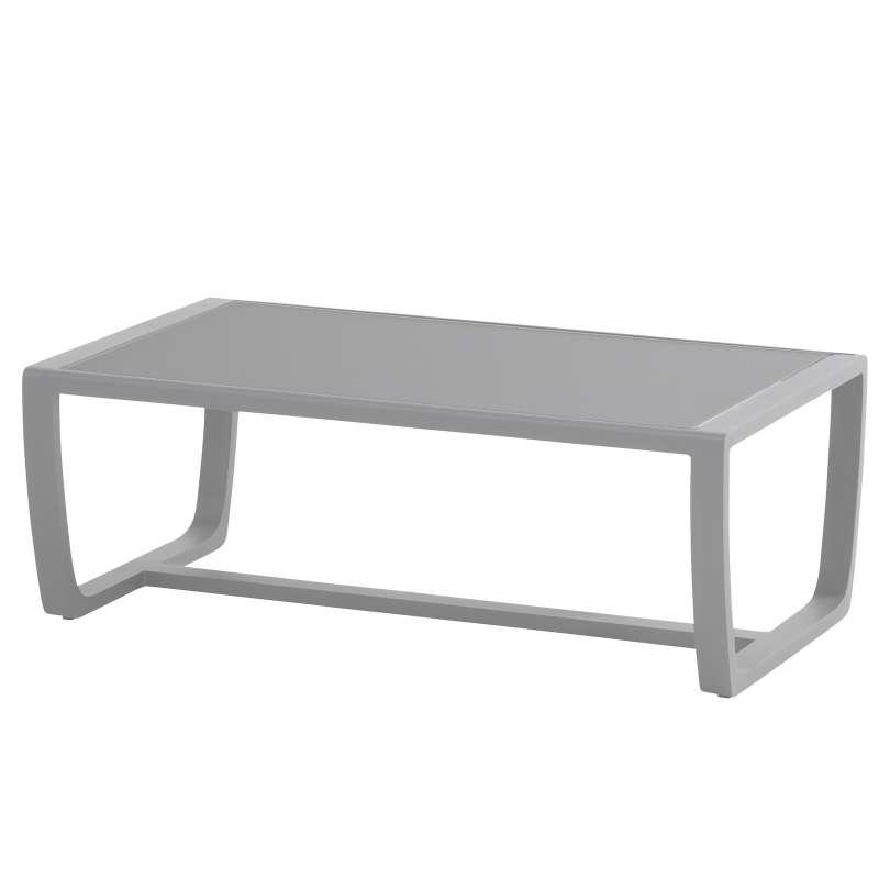 Aqua-Saar Kaffee-Tisch Coffeetable Amber Slate Grey 110 x 60 x 40 cm AS76109