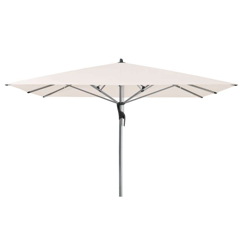 GLATZ Sonnenschirm FORTELLO® quadratisch 400 x 400 cm Stoffklasse 4 Vanilla 453