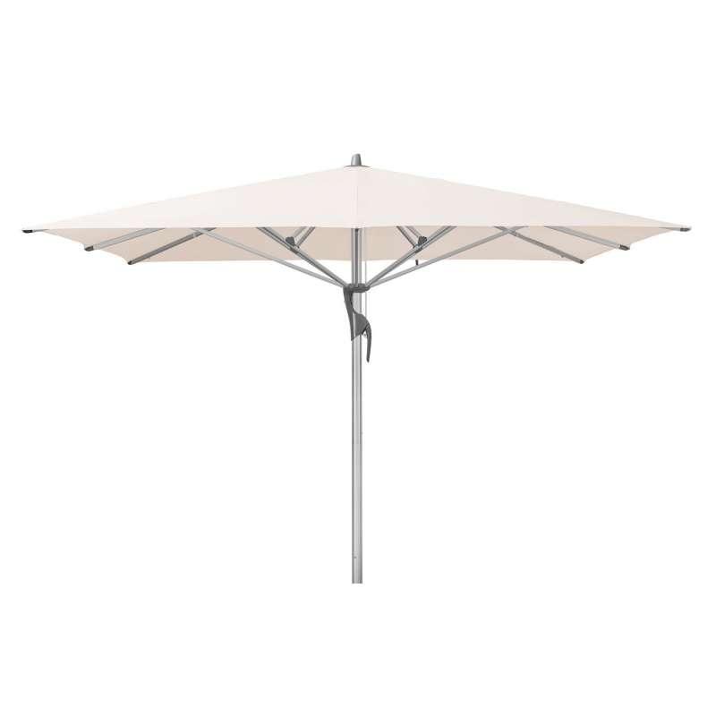 GLATZ Sonnenschirm FORTELLO® LED 300 x 300 cm Stoffklasse 4 Vanilla 453
