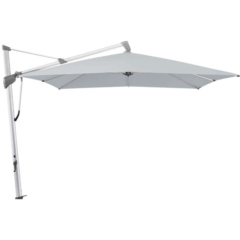 GLATZ Sonnenschirm SOMBRANO® S+ 400 x 300 cm Stoffklasse 5 Chrome 665