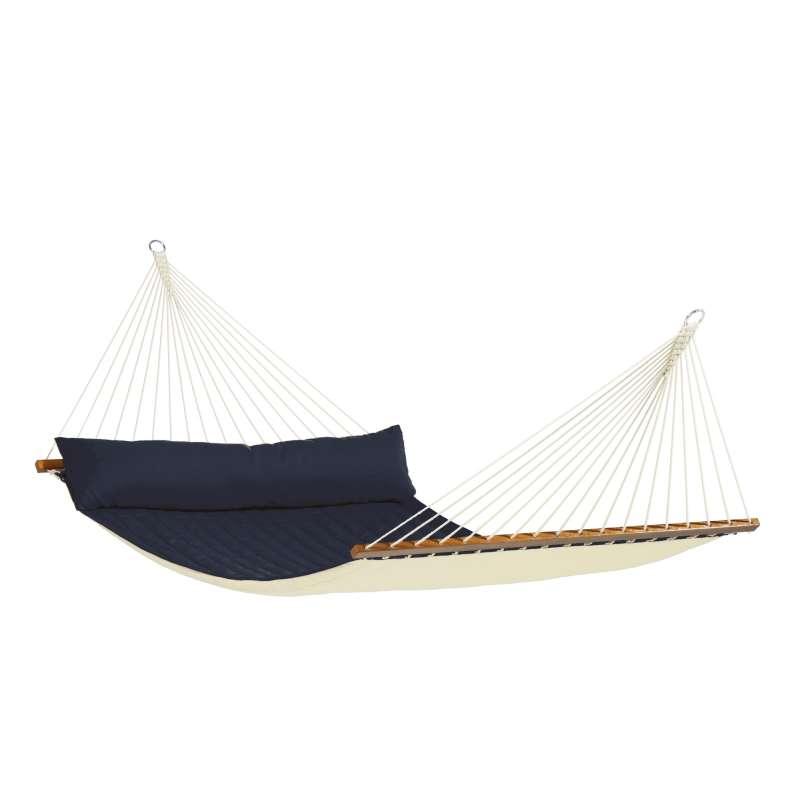 La Siesta Kingsize-Hängematte ALABAMA navy blue Stabhängematte NQR14-31 optional mit Gestell