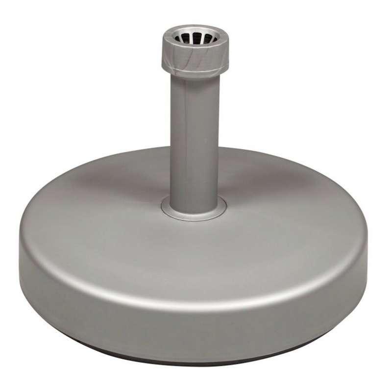 Doppler PE Sockel Schirmständer 25 kg zum befüllen silber Schirmsockel ø 45 cm 85899SS