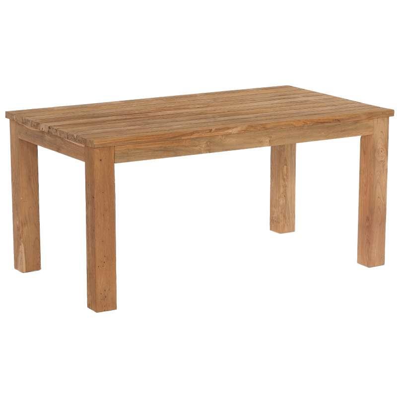 Sonnenpartner Gartentisch Charleston 160 x 90 cm Teakholz Holztisch 80050710