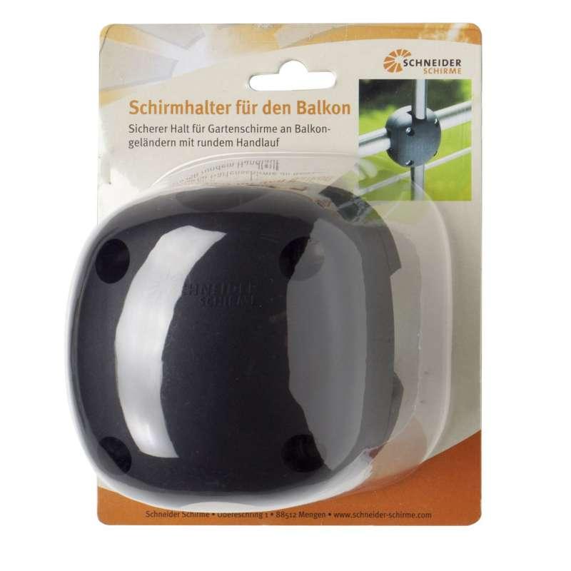 Schneider Schirmhalter Foxi Balkonbefestigung für Sonnenschirm Balkonklammer