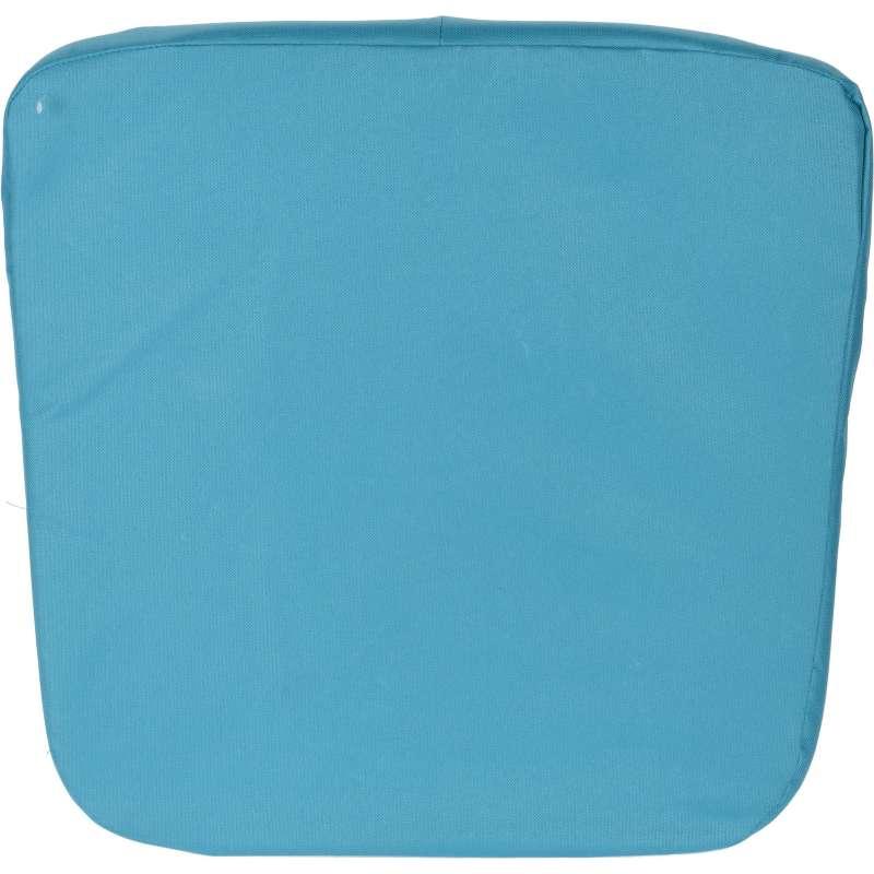 Sitzkissen Outdoor Stuhlkissen Innen- und Außenbereich ca. 46x46x4,5 cm blau