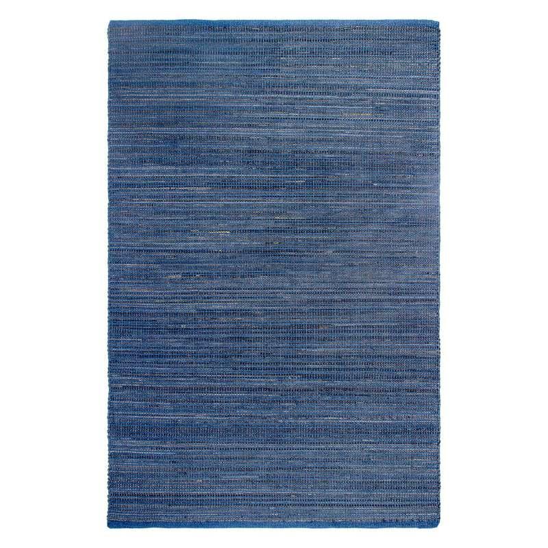 Fab Hab Outdoorteppich Kismet Indigo aus recycelten PET-Flaschen blau 90x150 cm
