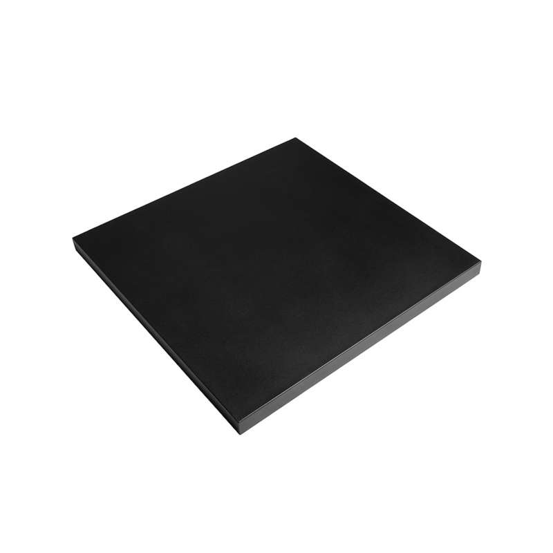 Happy Cocooning Deckel für Feuertisch Gartenfeuer schwarz 82x82x5 cm HC142008A