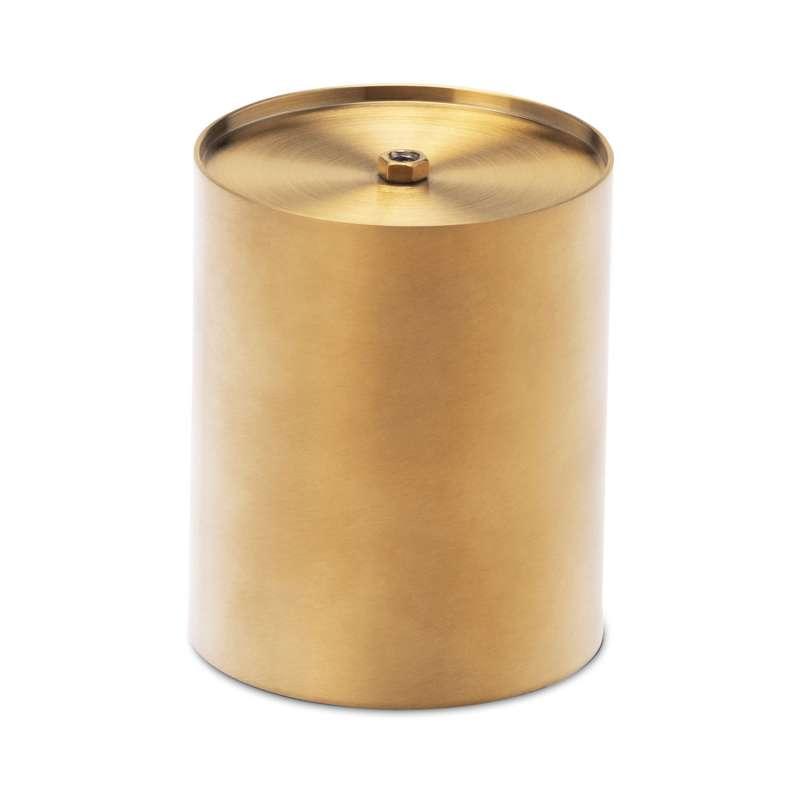 höfats Erhöhung für Tischfeuer SPIN 90 gold Edelstahl 8,5 cm
