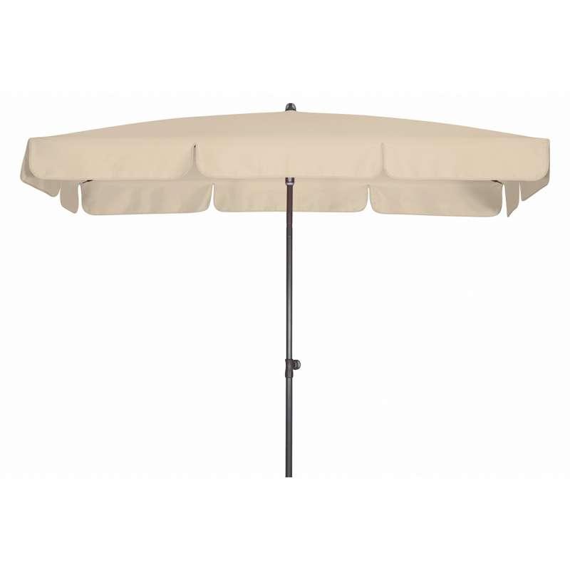 Doppler Sunline Waterproof 225 x 120 cm Sonnenschirm Natur Gartenschirm Sonnenschutz