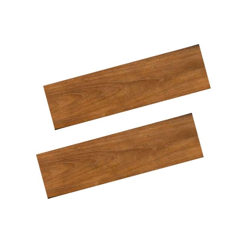 Happy Cocooning Mania 2 Seitentische für Feuertisch quadratisch/rechteckig 74x16,5x2 cm Teakholz