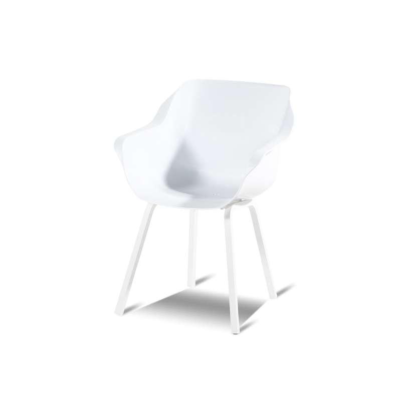 Hartman Sophie Element armchair Aluminum White Gartensessel 11680003