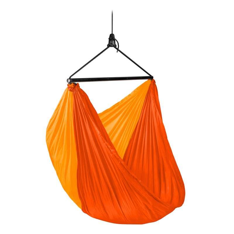 La Siesta Reise-Hängestuhl ZUNZUN sunrise orange Reisehängestuhl inkl. Befestigungsmaterial