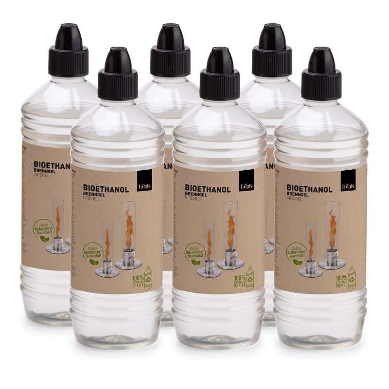 höfats Bioethanol SPIN Brenngel für Tischfeuer Windlicht 6 Liter