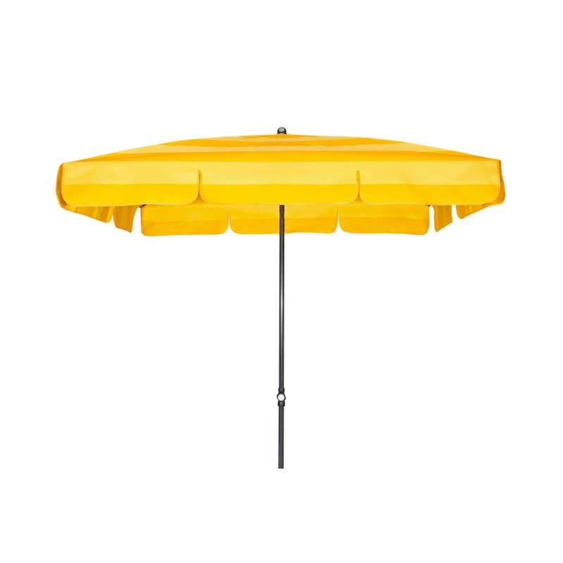 Doppler Sunline Waterproof 260 x 150 cm Sonnenschirm Gelb Gartenschirm Sonnenschutz