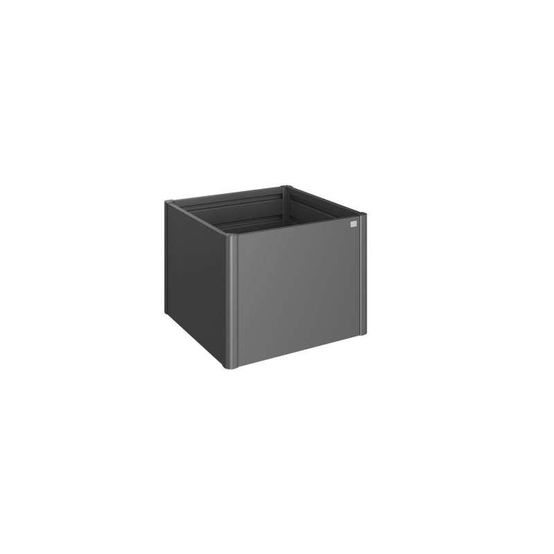 Biohort HochBeet Pflanzgefäss dunkelgrau-metallic Stahlblech/Glasfaser 5 verschiedene Größen