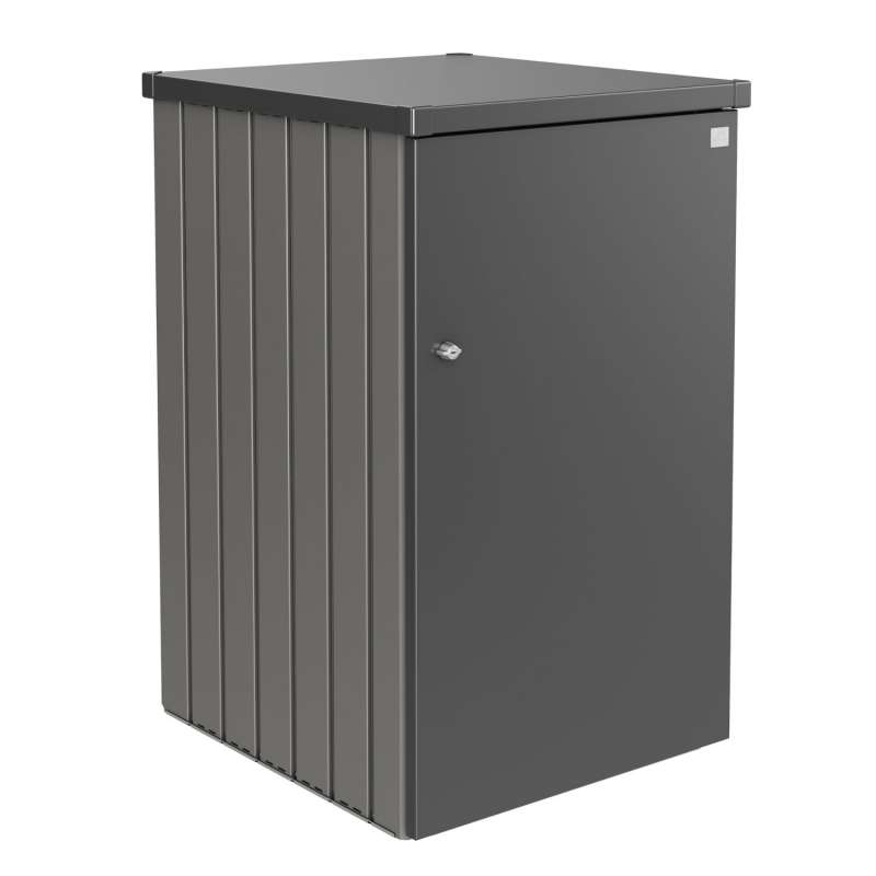 Biohort Alex modulare Mülltonnenbox 80x88x129 cm in 9 verschiedenen Farben Mülltonnenverkleidung