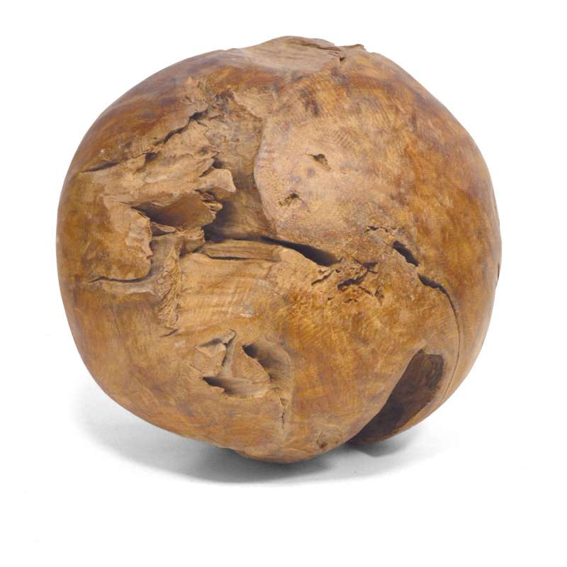 Sonnenpartner Deko Teak Ball Roots 50 cm rund 80060380