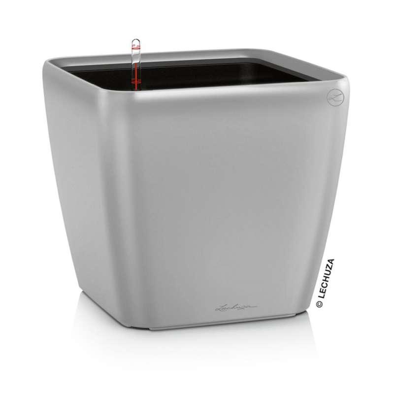 Lechuza Quadro Premium LS 28 Blumentopf Bewässerungssystem 28x28x26 cm 9 L 7 Farben Pflanzgefäß
