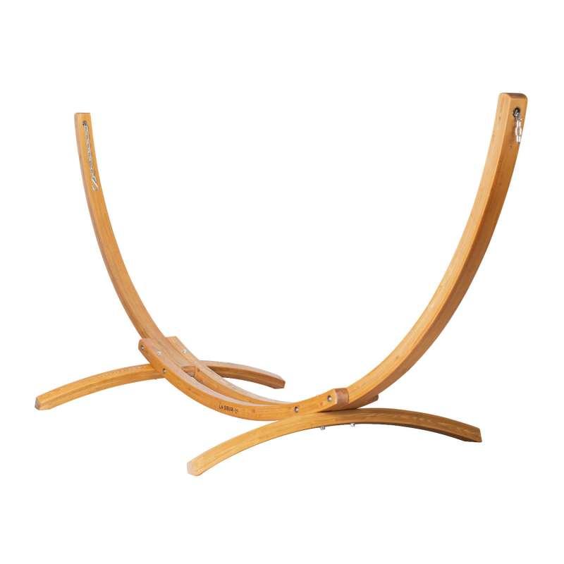 La Siesta Hängemattenständer Elipso natur Holz-Gestell für Doppel-Hängematten ELS35-1 Lärche