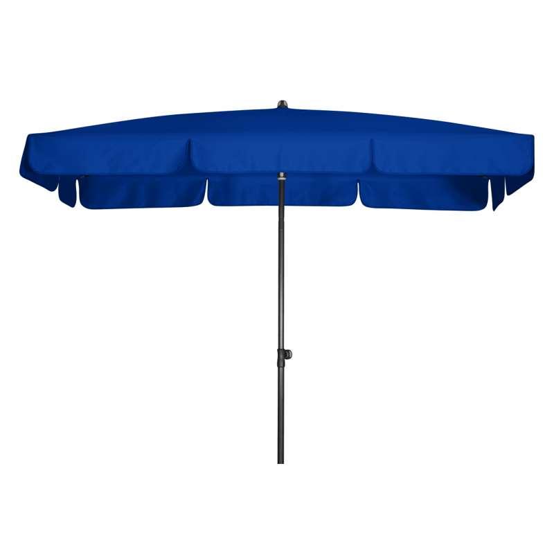 Doppler Sunline Waterproof 185 x 120 cm Blau Sonnenschirm Gartenschirm Sonnenschutz