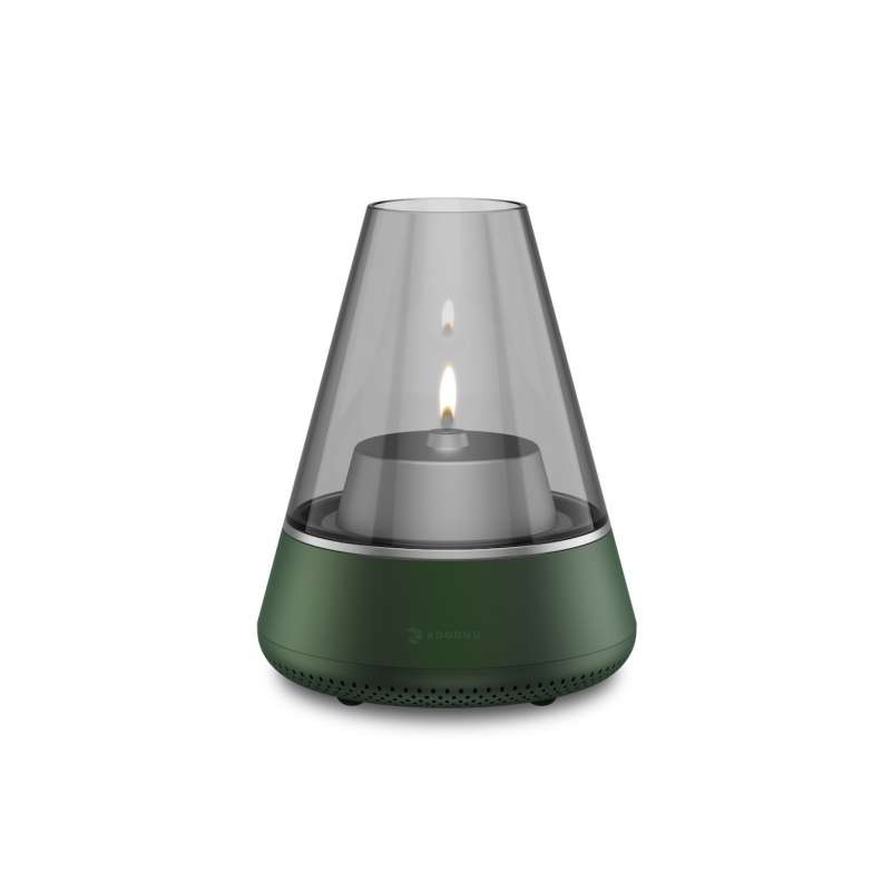 KOODUU Nordic Light Pro Grün Öllampe Teelichhalter Bluetooth Lautsprecher