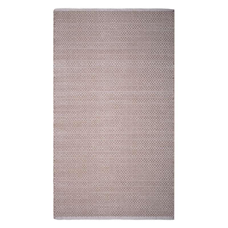 Fab Habitat Teppich Bodhi Beige aus recycelter Baumwolle 60x90 cm