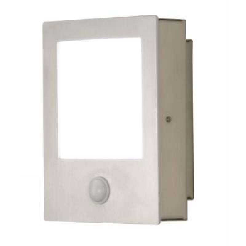 Heibi LED Wandleuchte Edelstahl 68161-072- EEK: A++ bis A Spektrum: A++ bis E - Ausstellungsstück