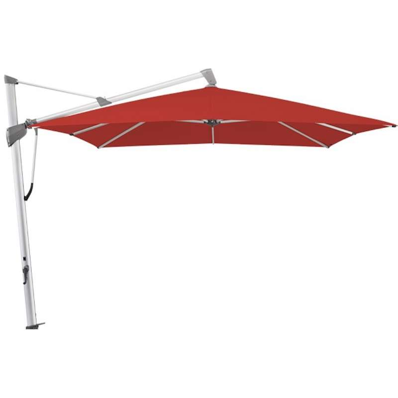 GLATZ Sonnenschirm SOMBRANO® S+ 400 x 300 cm Stoffklasse 4 Carmine 403