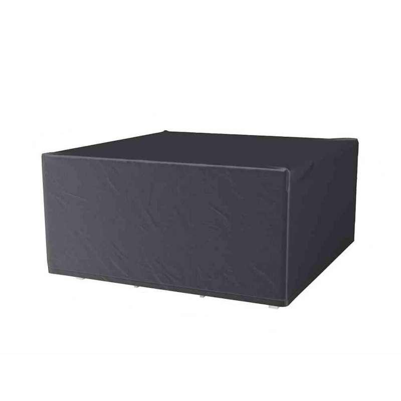 AeroCover Schutzhülle für Sitzgruppen 130x130x85 cm Schutzhaube Gartentisch Tischhülle