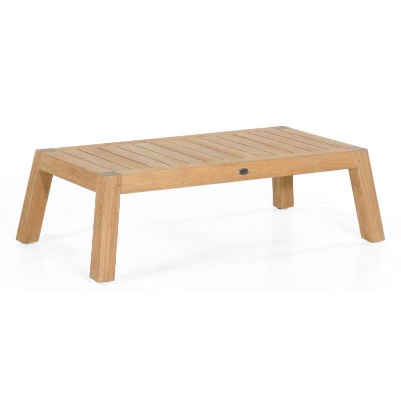 Sonnenpartner Loungetisch Clifton Teakholz natur 120x60 cm Lounge-Tisch