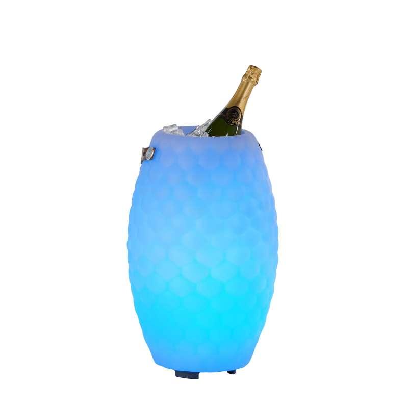 The Joouly 50 Limited Bluetooth Lautsprecher Farbwechsel Lampe mit Getränkekühler