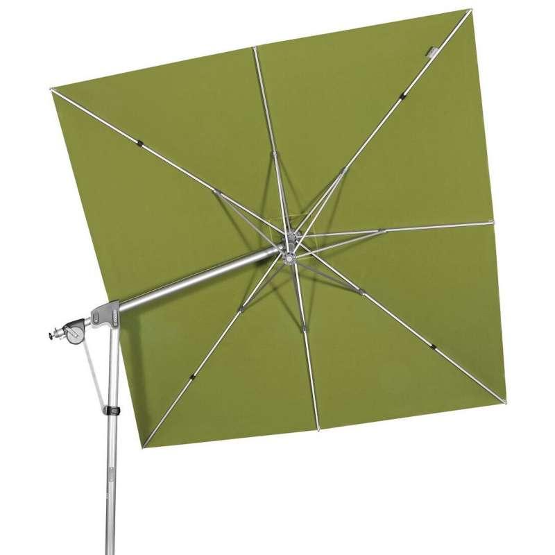 Doppler Protect Pendel 300 x 300 cm Sonnenschirm Smaragd 841 Pendelschirm Ampelschirm