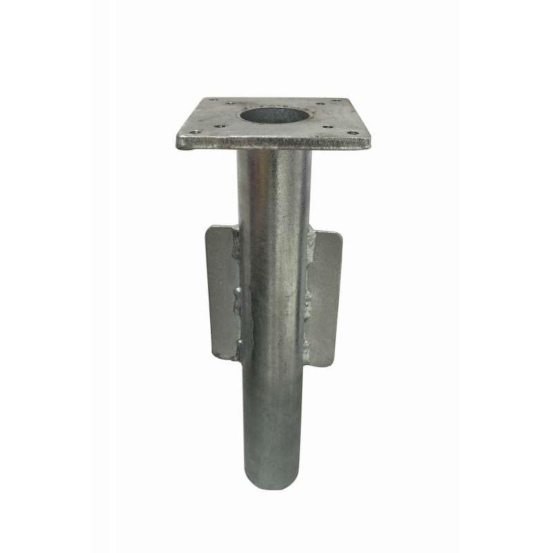 GLATZ SUNCOMFORT® Bodenhülse PSV16 Stahl verzinkt 13 x 6 x 40 cm Schirmbefestigung